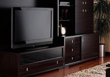 View Living Room Storage at Olum's Binghamton