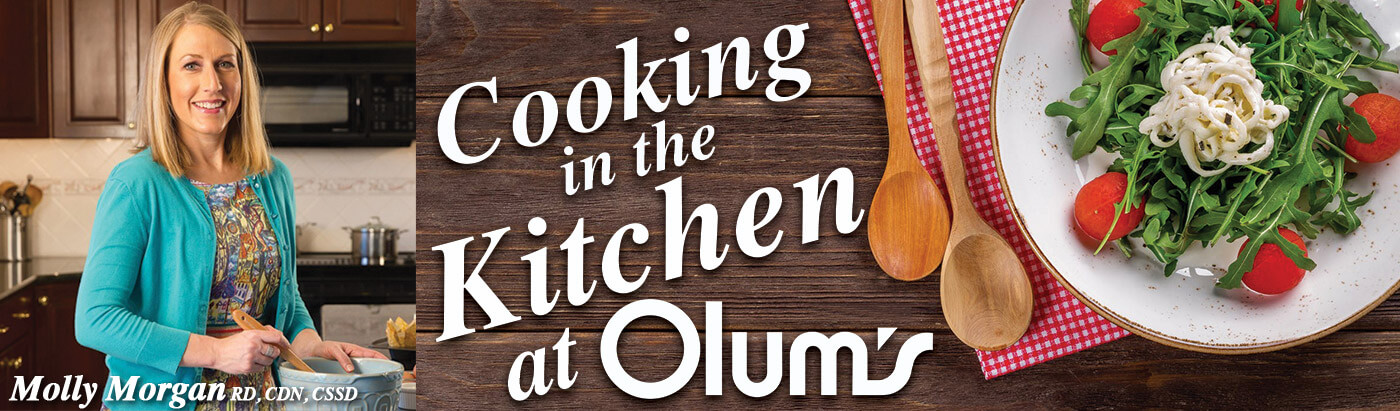Cooking in the Kitchen at Olum's